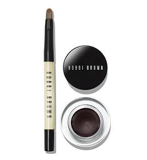Bobbi To Go - Mini Long-Wear Gel Eyeliner en Espresso Ink et Ultra Fine Eye Liner Brush